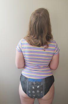 Girl diaper teen A Visit